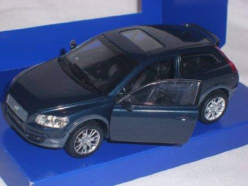 Volvo C30 C 30 Blau 1/32 Powco Modellauto Modell Auto
