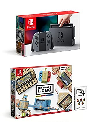 Nintendo Switch - Consola Color Gris + Nintendo...