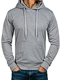 BOLF – Sweat à capuche – Manches longues – Sweatshirt – Pullover – Homme [1A1]