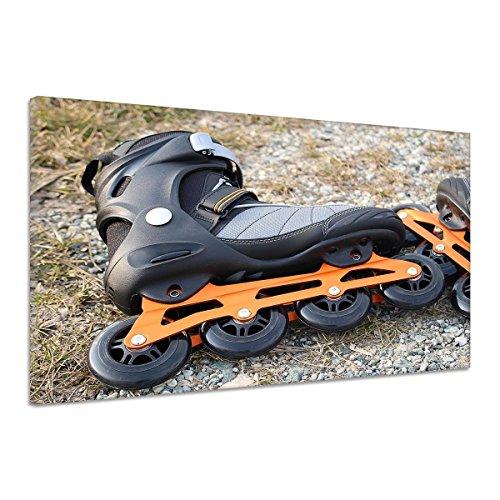 Roller Blades Rollschuhe Inlineskates Kies Leinwand Poster Druck Bild aa0659 160x120