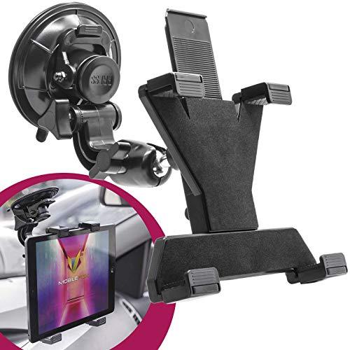 mobilefox 360° KFZ - Supporto per tablet, con sistema di fissaggio a ventosa.