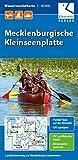 Wasserwanderkarte Mecklenburgische Kleinseenplatte: Maßstab 1:50.000, GPS geeignet, Paddel-Tipps auf der Rückseite