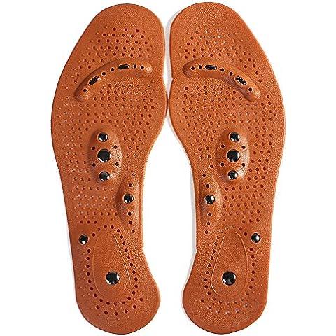 Bei wang piedini salute e la terapia del massaggio plantare, per scarpe e stivali (modello uomo)