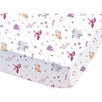 CTI 044703My Little Pony Royally sábana bajera para niños algodón rosa 190x 90cm
