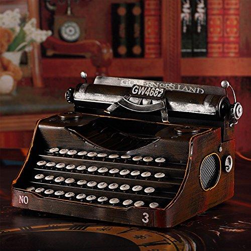 Willower Retro Nostalgie, Schreibmaschine im Alten Stil, Ornamente, Eisenhandwerk, Kunsthandwerk, kreative Bars, Schaufenster, Fotografie Requisiten.