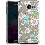 Samsung Galaxy A3 (2016) Housse Étui Protection Coque Fleurs Fleurs Déco