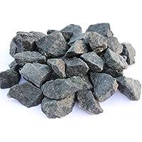 Piedras de sauna Premium Lavar–diabasa de para todas las estufas de sauna resistente al calor grano 32–56mm.