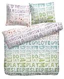 Nicht Zutreffend Bettwäsche Bettbezug Bettwäschegarnitur Dreaming | 2-teilig | 135 x 200 cm | Baumwolle | Weiß