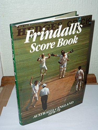 Score Book 1978-79: Australia Versus England
