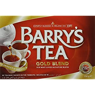 Barry's Gold Blended Tea Bags/Red Label (Pack of 3)