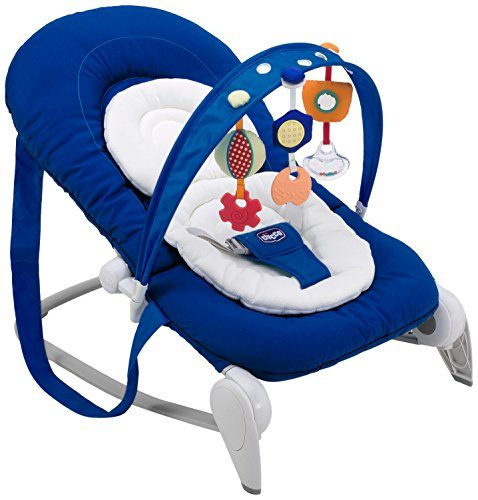 Chicco Hoopla Hamaca bebe plegable azul marino