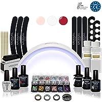 Lampara LED UV Secador de Uñas Esmalte Semipermanente Pintauñas Decoración de Uñas Manicura ...