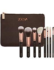 zoeva Brushes Makeup Cosmetics Brush Tool rose Golden Luxury Kit Bag Complete Eye Set de 8Pennelli Face Eye Makeup Brushes Mixage Brushes Set Complete Eye by 7461
