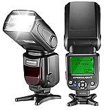 Neewer NW620 (GN58) LCD-Anzeige Flash Blitzgerät für Canon Nikon Panasonic Olympus Pentax mit Standard Hot Shoe und Sony Kamera mit neuem Mi Hot Shoe wie A7 A7S A7SII A7R A7RII A7II A6000 A6300 A6500