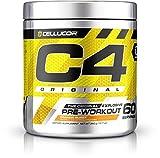 #7: Cellucor C4 Original Explosive Pre-Workout Supplement,Orange Burst, 12.7 Ounce