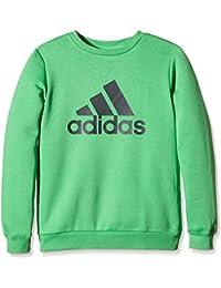 Adidas essentials logo sweat-shirt pour garçon