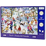 "1000 Piece Jigsaw Puzzle - Find the Differences No.9 - Frosty & Friends ""NEW JULY 2015"
