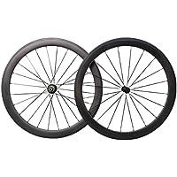 50mm Aero 700C Carbono Bicicleta Carretera Ruedas Clincher Racing Bicicleta Ruedas