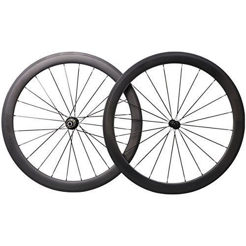 50mm Aero 700C Carbon Road Bike Wheels Clincher Racing Bicycle Wheels