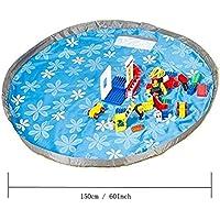 Preisvergleich für Kinder Aufräumsack Spieldecke Spielzeug Speicher Tasche Aufbewahrung Beutel Spielzeugaufbewahrung