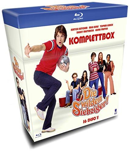 Die wilden Siebziger - Die Komplettbox mit allen 200 Folgen auf 16 Blu-rays (Cigarette Box mit Episodenguide und Fanposter) (exklusiv bei Amazon.de)