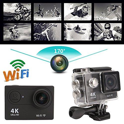 MOHOO Sport Action Camera HD 1080P WiFi mini DV di sport azione del casco Videocamera Fotocamera Impermeabile