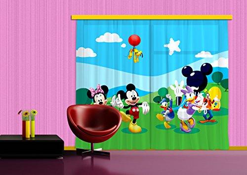 Tende Bambini Disney : Tende per camerette per bambini disney mickey mouse grandi