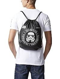adidas GS Star Wars, bolsa hombre, negro, NS
