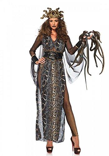 shoperama Medusa Damen Kostüm von Leg Avenue Schlangen Mythologie Griechische Göttin, Größe:S (Schlange Göttin Kostüm)