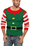 Ugly Christmas Sweater Christmas Elf Weihnachtspullover grün M