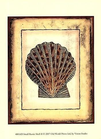 Small Rustic Shell II Fine Art Print (24.13 x 33.02 cm)