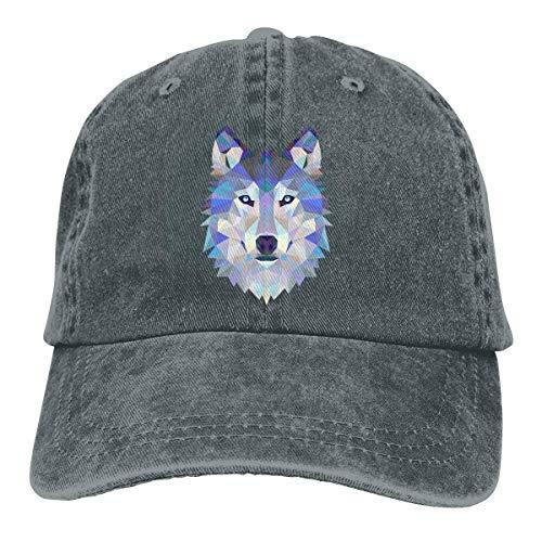 Cowboy Hat Wolf Animals Space Denim Skull Cap Baseball Cowgirl Sport Hats for Men Women Cowgirl Cadet Cap