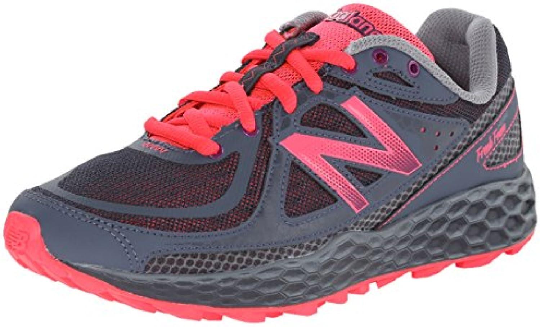 New Balance WThie Breit Maschenweite Laufschuh, Grau (g Grey/pink), 36.5
