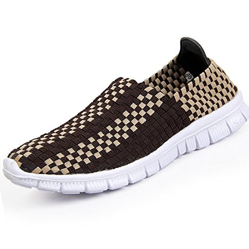 Men's Stretch Fabric Comfortable Outdoor Casual Shoes brown