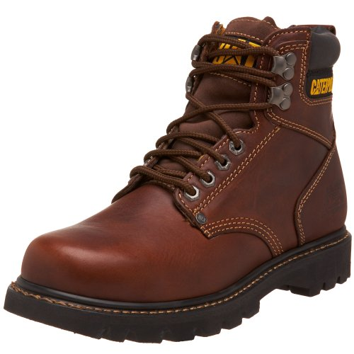 Caterpillar SureGrip Mens Second Shift SG frumento Antiscivolo Stivali da Lavoro 11 D(M) US Men Tan