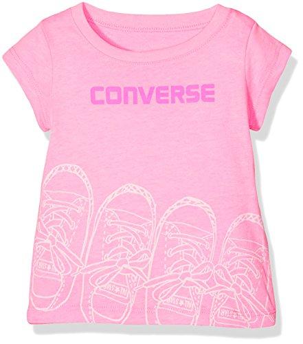 en T-Shirt Kicks Tee, (Pink Glow A88), 0-12 (Hersteller Größe:12 Monate) ()
