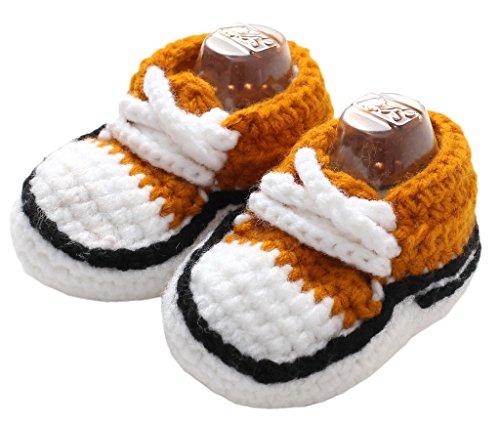 Bigood Chaussure Bébé Fille Garçon Tricot Déguisement Chausson Souple Mignon