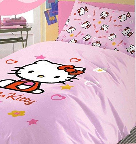 Copriletto Trapuntato Hello Kitty.Copriletto Cotone Singolo Hello Kitty Mis 170x260