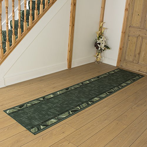 Cordo Green - Long Hall & Stair Carpet Runner