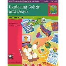 Exploring Solids and Boxes: 3-D Geometry by Michael T. & Clements, Douglas H. Battis (1998) Paperback