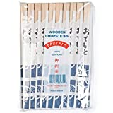 Pack of 40 x Pairs of Disposable Chopsticks| Hashi
