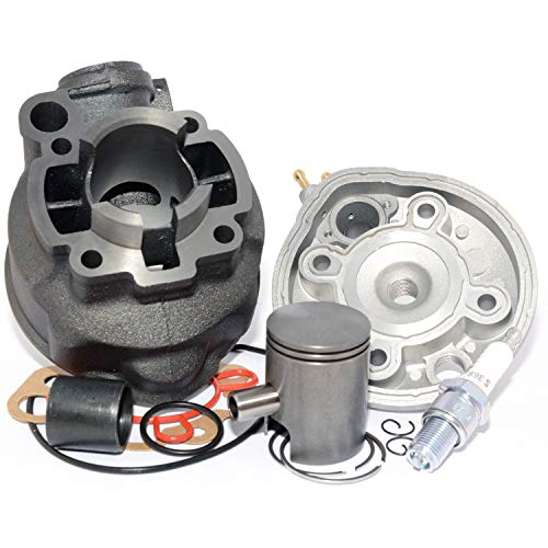 Easyboost Kit Cilindro 50 Hierro AM6 Culata Piston Bisegmento Homologado CE Tipo...