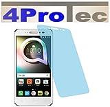 4ProTec 4X Crystal Clear klar Schutzfolie für Alcatel Shine Lite Premium Bildschirmschutzfolie Displayschutzfolie Schutzhülle Bildschirmschutz Bildschirmfolie Folie