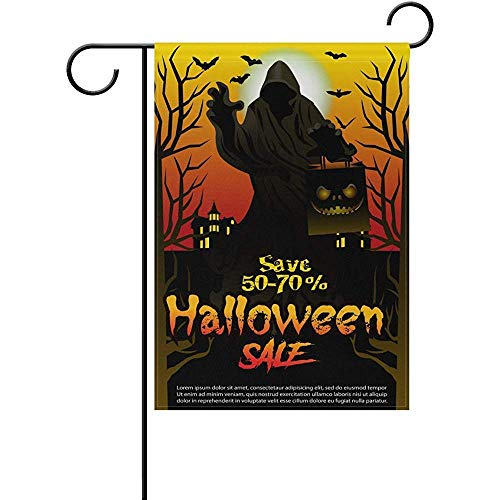 ary Halloween Night Sale Decorative Garden Flagge Banner Polyester Double Sided Welcome Flagge Seasonal Indoor Outdoor 12