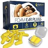 SleepDreamz® Schaumstoff Ohrstöpsel zum Schlafen - 10 Paar geräuschunterdrückende Ohrstöpsel - Schnarchen-Unterdrückung & Schutz vor anderen lauten Geräuschen, mit diesen Ohrenstöpsel für den Schlaf