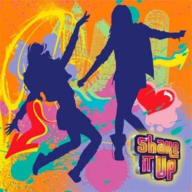 Shake It Up Beverage Napkin, 16 per package (Shake It Up-spielzeug)