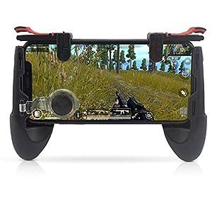 LinHut Bequemer Gamecontroller Mobile Game Controller Abnehmbare Baugruppe Handy Löst Empfindlichkeitsregler-Joysticks Gamepad Mit Gaming-Trigger Aus für Freizeit und Unterhaltung