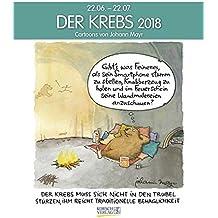 Krebs 2018: Sternzeichen-Cartoonkalender