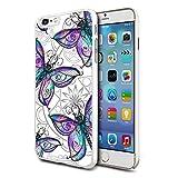 Schmetterling Design Telefon Hartschale Case Hülle für