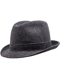 Amazon.it  Grigio - Cappelli Fedora   Cappelli e cappellini ... 82a076dfccb6